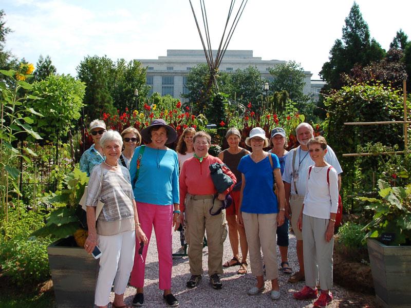 Garden Tour for Seniors in Arlington VA