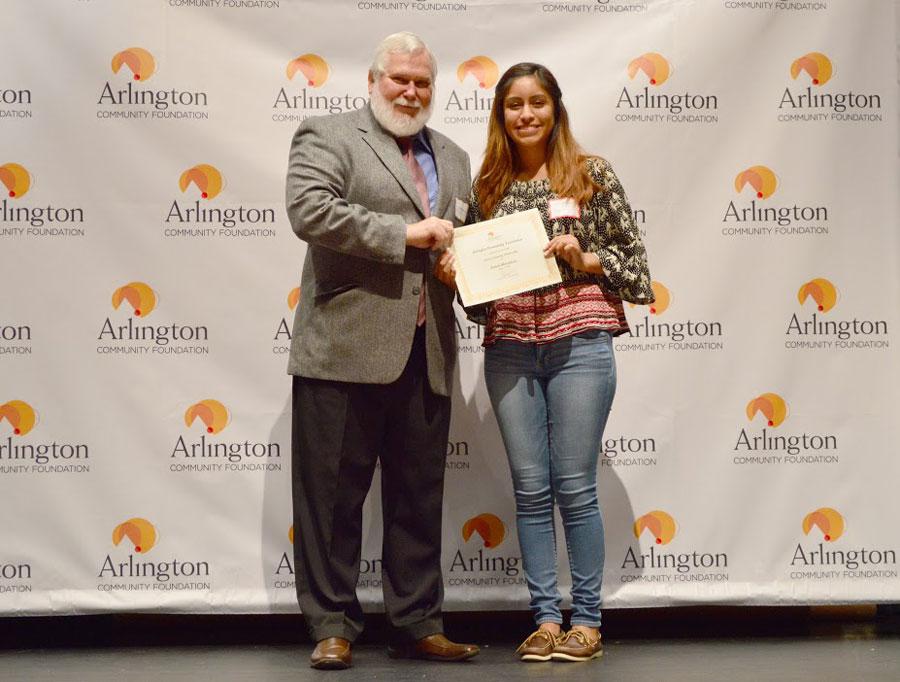 Arthur Gosling Scholarship Recipient